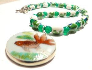 Koi Necklace, by Gail